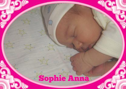 Geboortekaartje meisje bij Kaartje2go