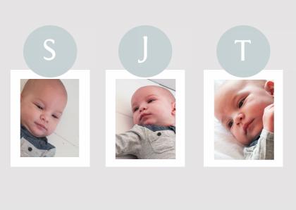 geboortekaartje-drieling-bal