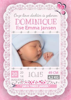geboortekaartje-kant-meisje
